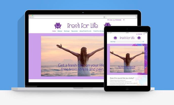 Fresh For Life Responsive Website